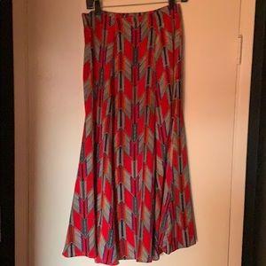 Mara Hoffman flowey midi skirt